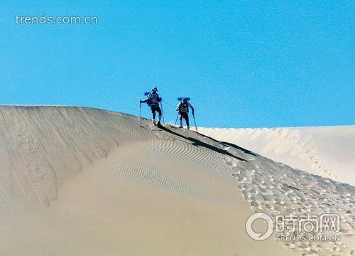 走进肃北徒步探险戈壁长征西游记(组图)