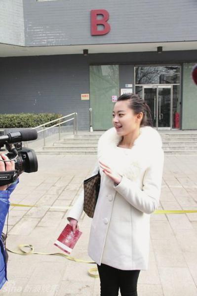 目前,刘芷微已经通过了北影和中戏的初试。(图据网络)