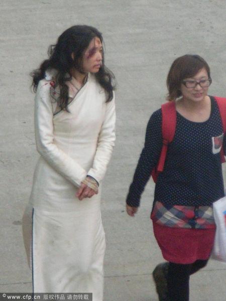 3月7日,电影《王牌》在上海取景热拍。
