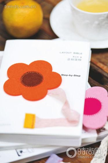 花朵手工diy 花瓣书签