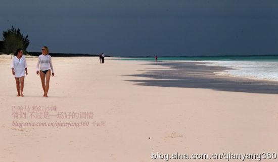 巴哈马:性感上最图片的粉红性感(世界)海滩白百何组图图片图片