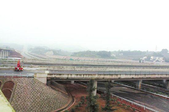 宜泸渝高速公路即将全线通车。(资料图)