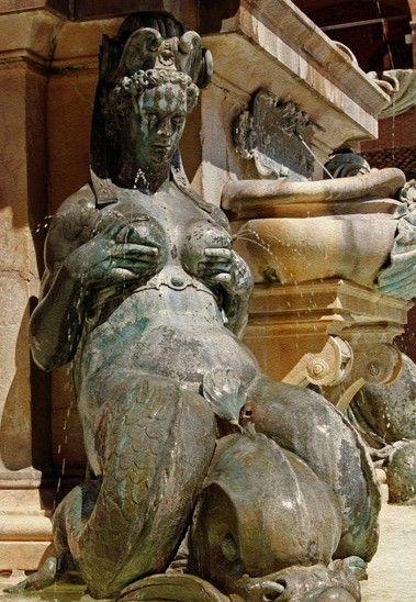 艺术对话生活欧洲九个令人咋舌的喷泉(组图)