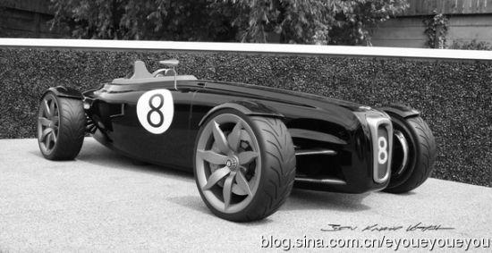 宾利barnato跑车概念设计稿欣赏