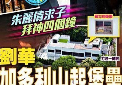 港媒曝光刘德华豪宅