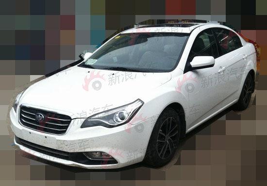 新增1.8L车型 改款奔腾B50即将上市高清图片