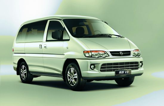 菱智国际化商务车制造平台的菱智v3,其经典的商务外观和舒适高清图片