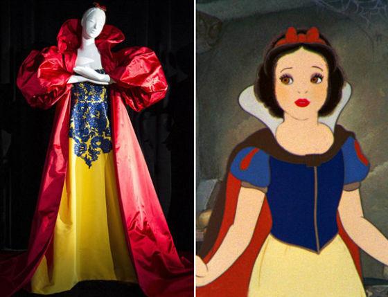 《美女与野兽》中的贝儿公主:华伦天奴