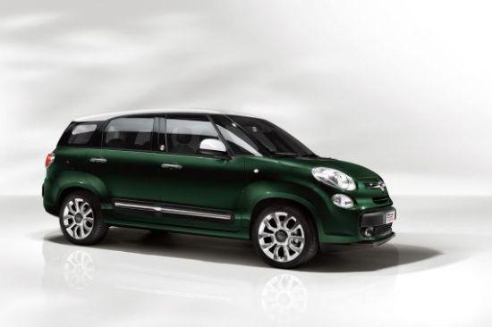 菲亚特500L七座版英国起价1.6万英镑