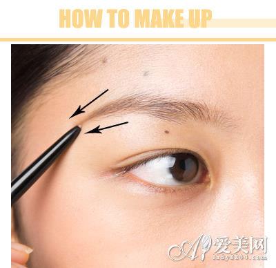淡妆眼妆的画法步骤图解