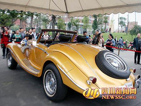 上世纪七零后的老爷车是博览会最大亮点