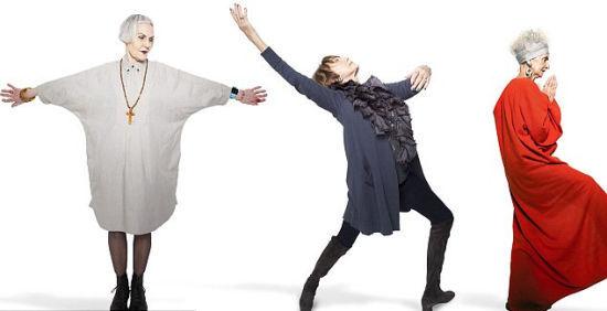 报道称,这6位时尚达人中,最具冒险精神的当属73岁的Sue Kreitzman,她所设计出的衣服宛如一件件珍贵的艺术品。在她看来,这是摆脱时尚霸权的方式。今年已经85岁的祖母级超模达芙妮•莎菲尔可谓是风韵犹存,一身炫酷的造型令众人羡慕不已。