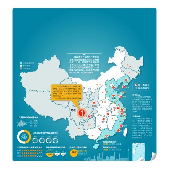 中国城市最新分级 成都领衔新一线城市