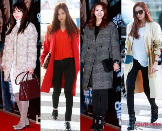 韩国女星今冬最爱外套实用搭配推荐