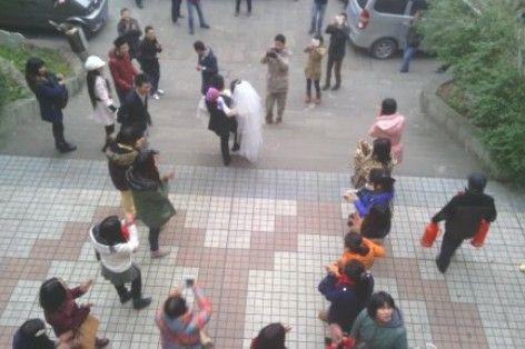 网友播报婚礼