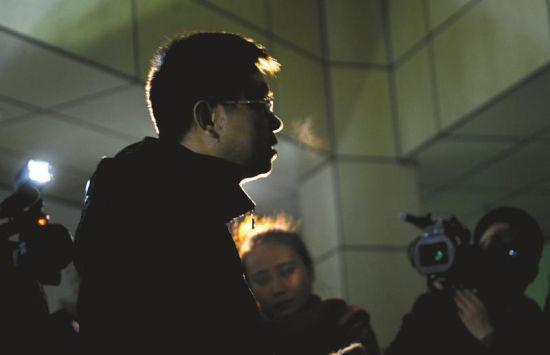 1月14日,廖某接受媒体采访时,他对女司机表示歉意