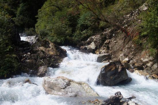 物华天宝东拉山峡谷 生态风景绿色宝库_新浪旅游_新浪