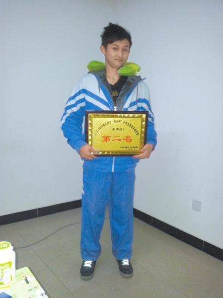 2012年,蒲柏旭代表大竹中学参加达州市校园足球赛,球队获得了第二名。