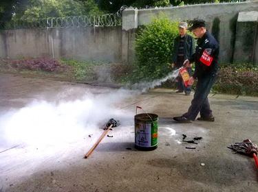 龙泉一中消防安全培训