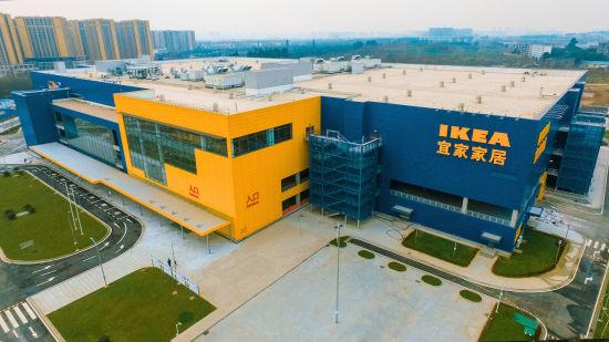 成都第二家宜家商场将于3月24日正式开业