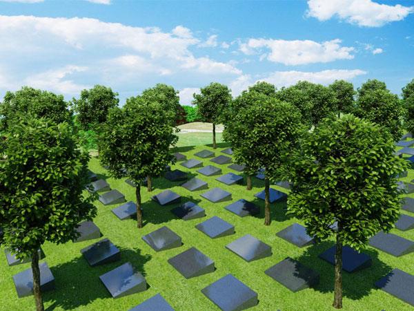 成都19家公墓免费提供813个生态节地葬墓位