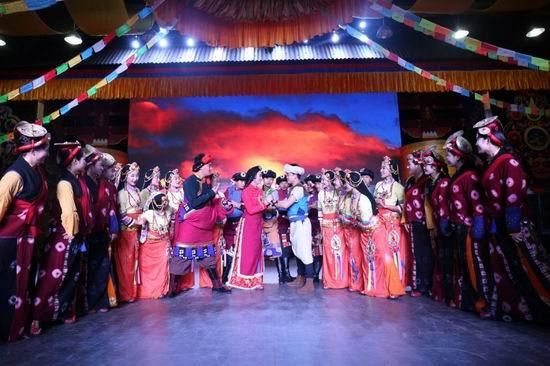 大型民族音乐剧 康定情歌 将于18日晚在蓉首演