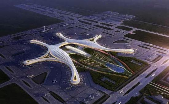 成都天府国际机场规划图