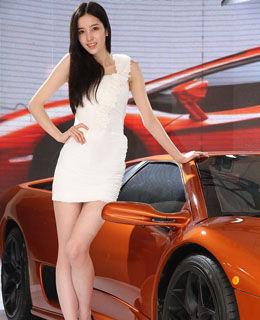 北京车展模特高清图