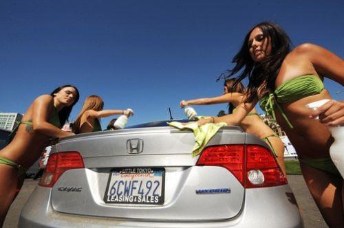 因为这个比基尼洗车场是hybrids