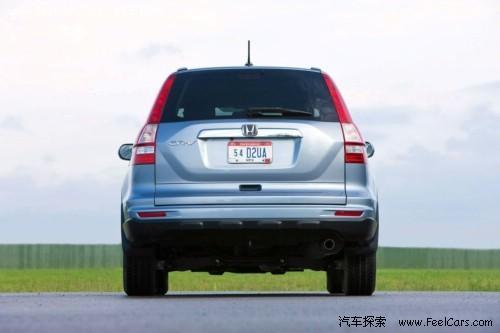 更男人一些―2010款本田CR-V官方图发布