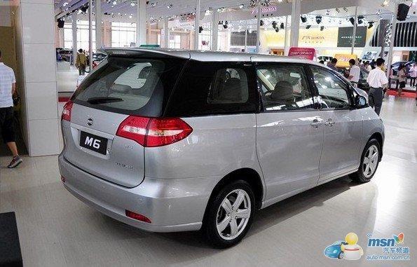 内部空间是比亚迪m6的重要卖点,   车身尺寸上,长4795mm,高清图片
