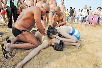 美女溺水死亡图片》防溺水知识》防溺水知识
