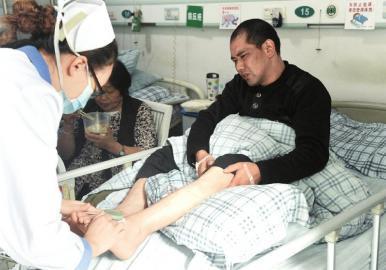 10月4日,黄谷林被诊断为左踝骨折。