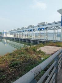 内江天宫堂水电站大坝。