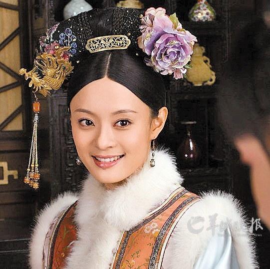 孙俪饰演甄嬛 羊城晚报