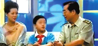 李双江及妻子早 年在接受媒体采访时多次谈到心爱儿子中。 图/CFP