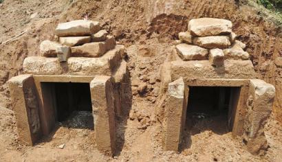 古墓外观。(图片由合江县文物局提供)