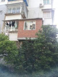 郑家勇:去年上半年搭建,征得了一楼住户同意。   网帖:去年违建清理,很多都拆了,就郑家的没拆。
