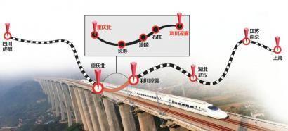 渝利铁路目前已经进入联调联试阶段。制图/姜宣凭