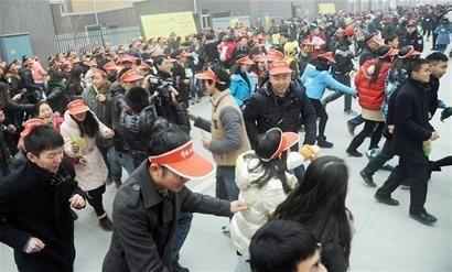 成都彭州1437人捉迷藏