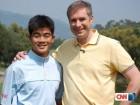 梁文冲接受CNN专访:愿为实现中国人大满贯梦想努力