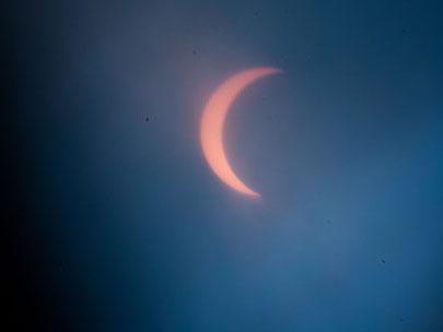 多国现罕见日食