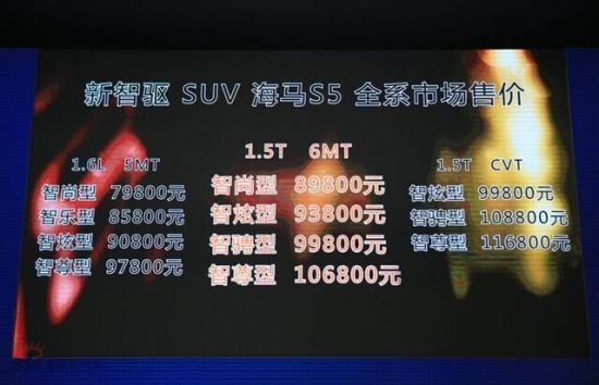 海马S5运动版绵阳艾潇载誉上市会落幕
